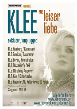 KLEE Plakat unplugged